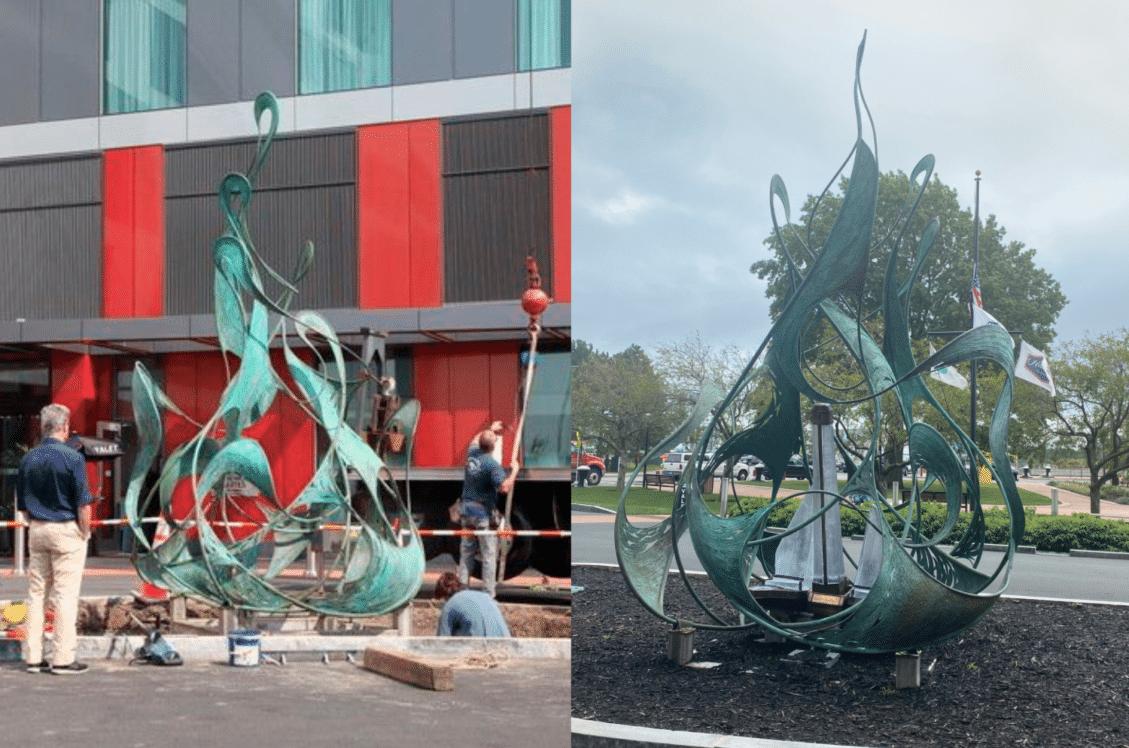 Seaport Hotel Sculpture